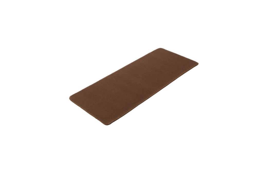 タフト織 キッチンマット 50×120cm ブラウン