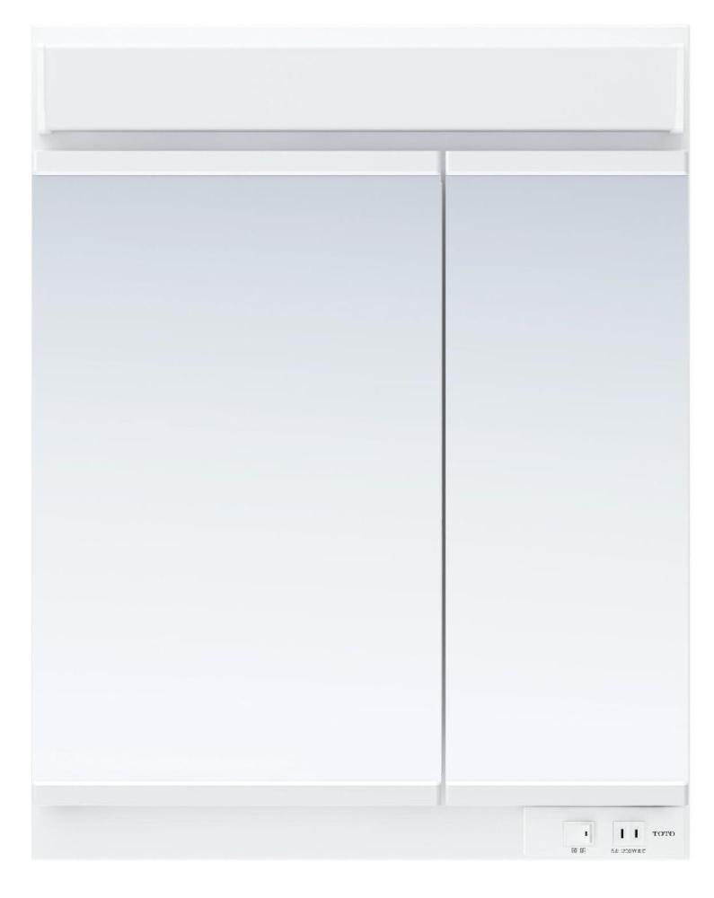 TOTO 洗面化粧台(KZ用) 間口600 二面鏡 LED LMCC060A2GEC1G