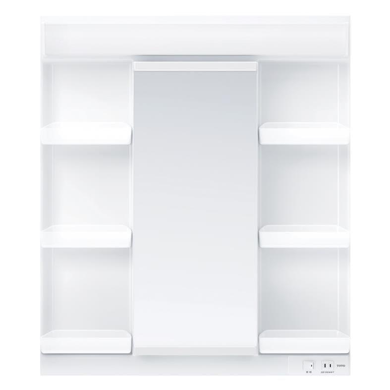 TOTO 洗面化粧台(KZ用) 間口750 一面鏡 LED LMCC075A1GEC1G