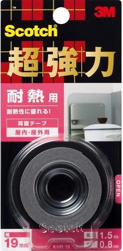 3M超強力両面テープ 耐熱用 KHR-19