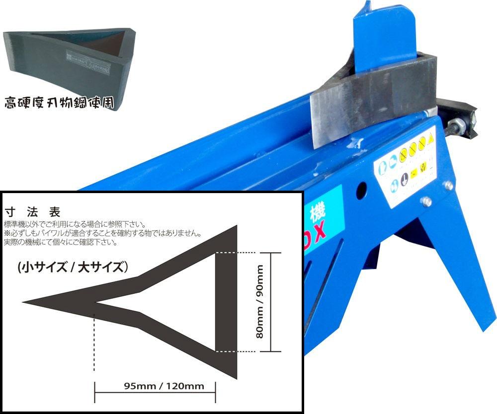 電動薪割機用アタッチメント バイワル小 4t~5t用