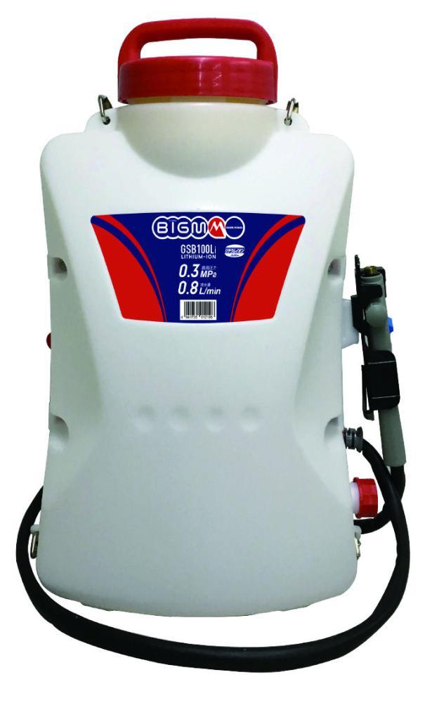 BIG-M リチウムイオンバッテリー動噴 GSB100Li
