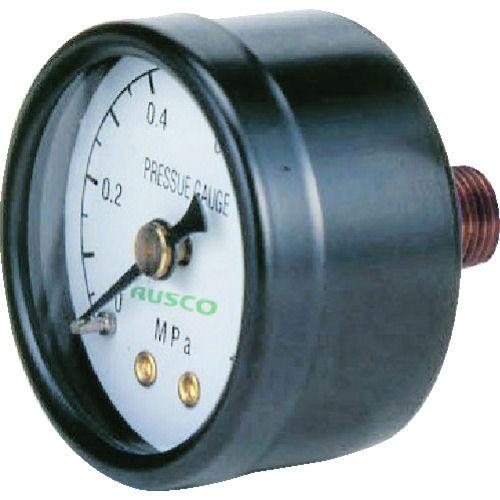 TRUSCO 圧力計 表示板径Φ40 埋込型口径R1/8表示 _
