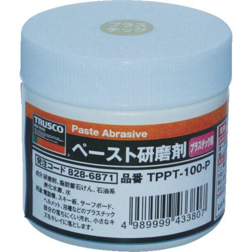 TRUSCO ペースト研磨剤 プラスチック用 100g _