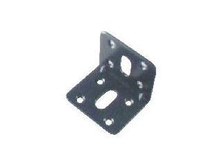 TRUSCO ジョイント金具45型L 黒 37X37 _