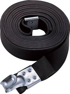 TRUSCO ゴムロープ金具付き幅20×折長3.0m 1本入 _