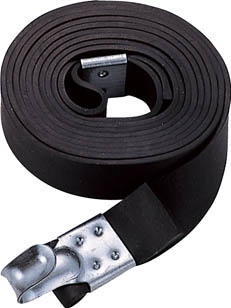 TRUSCO ゴムロープ金具付き幅20×折長3.5m 1本入 _