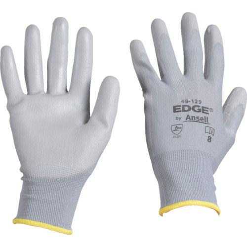 アンセル ウレタン背抜手袋 エッジ 48-129 グレー XLサイズ_