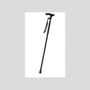 ピッチ付折りたたみ式杖 ブラック E248