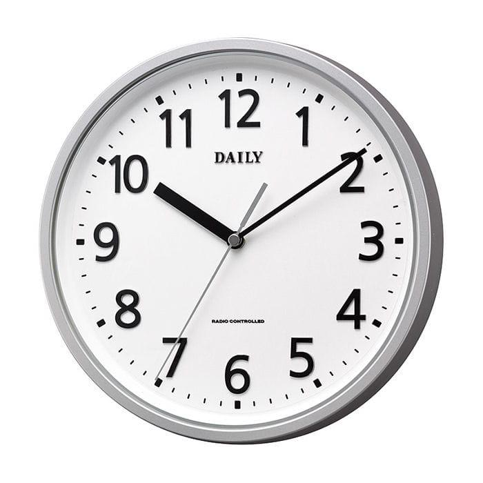 リズム時計 デイリー 電波掛け時計 MY34 4MYA34DN19