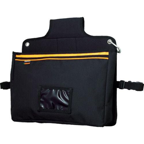 TRUSCO 楽チン台車バッグ マチ付きポケット型 ブラック_