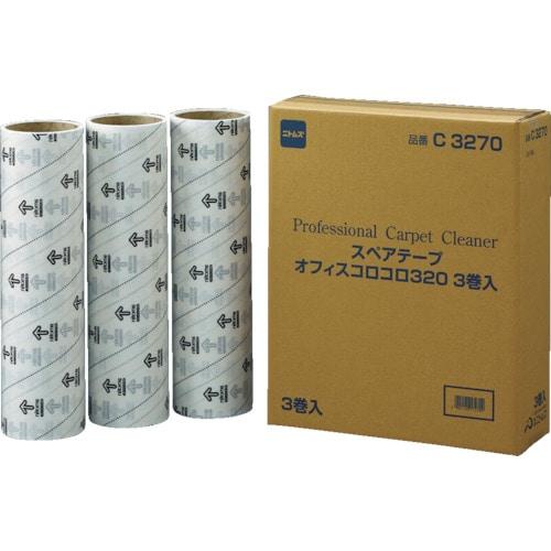 ニトムズ オフィスコロコロスペアテープ320mm (3巻入)_