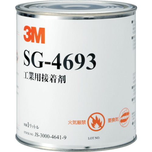 3M Scotch-Weld 溶剤型接着剤 SG-4693 1L_