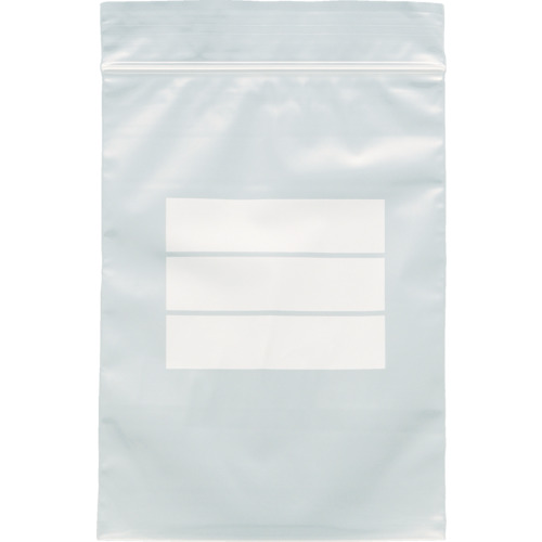 TRUSCO チャック付ポリ袋(白枠付き) 各種