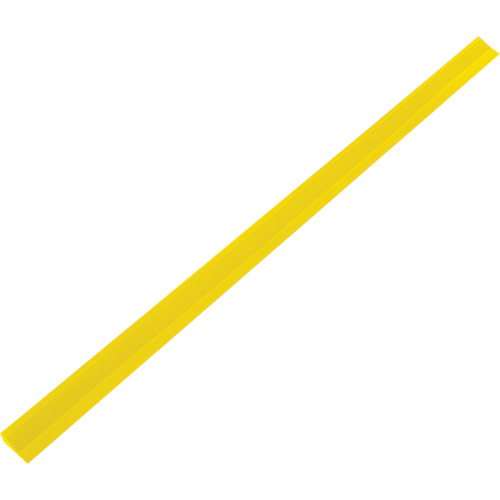 TRUSCO 屋内外用段差解消スロープ H15XW35XL1000 黄_