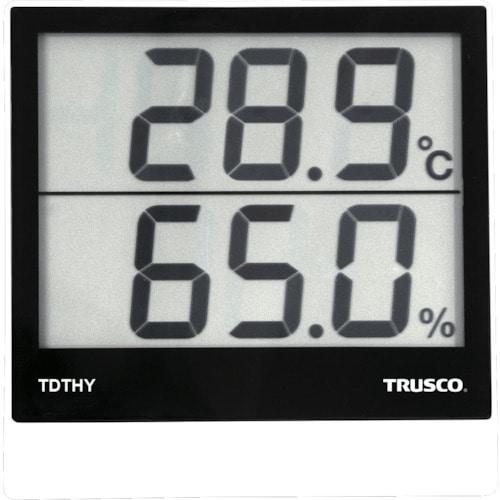 TRUSCO デジタル温湿度計_