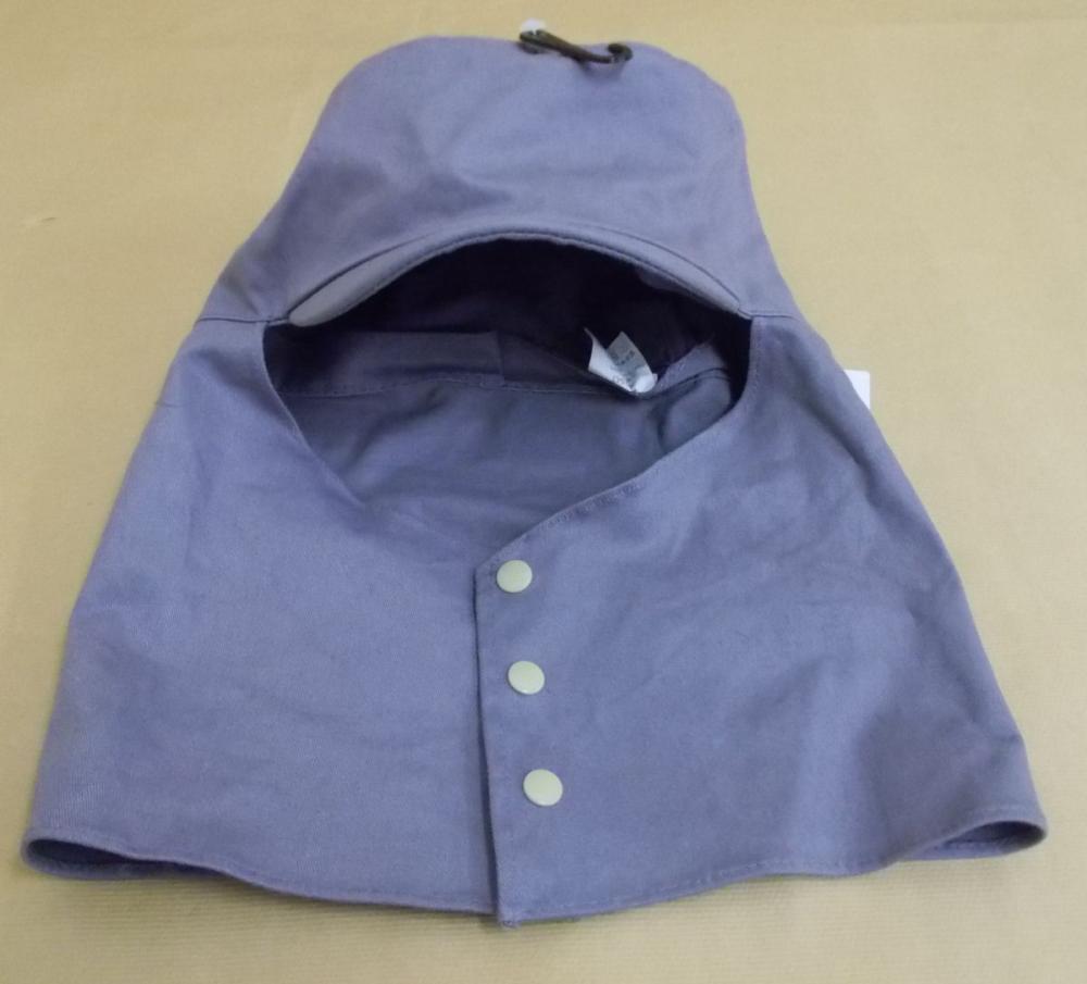 543 溶接用帽子 レギュラー グレー L