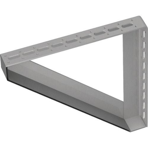 TRUSCO 配管支持用対面兼用三角ブラケット スチール 300X300_