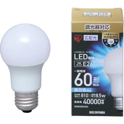 IRIS LED電球広配光 調光 昼白色60形相当(810lm)_
