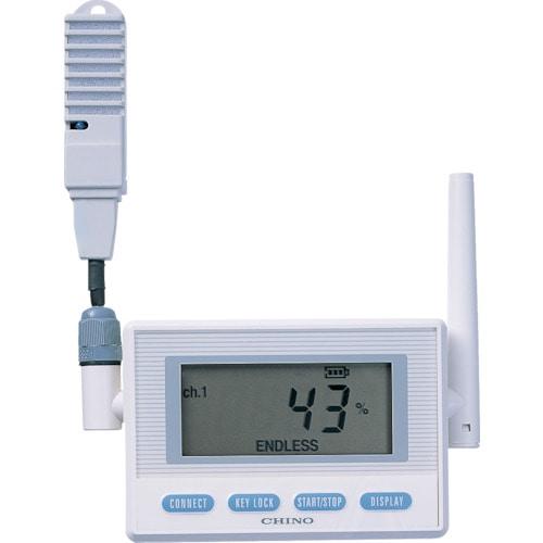 CHINO 監視機能付無線ロガー 送信器 温湿度センサ 専用バッテリリード1M_