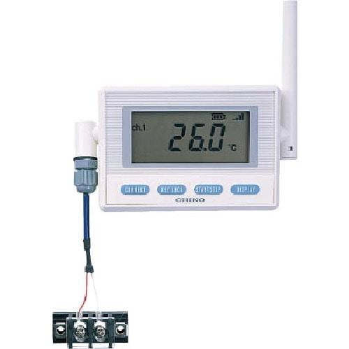 CHINO 温湿度センサ熱電対モデル(専用バッテリ・T熱電対)_