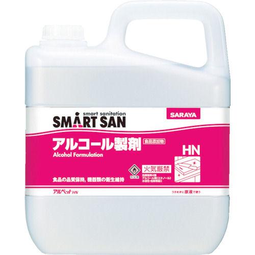 サラヤ SMART SAN食品添加物アルコール製剤 アルペットHN 5L_