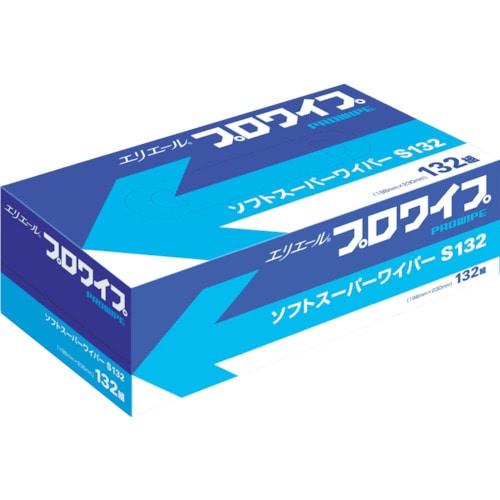 エリエール エリエールプロワイプソフトスーパーワイパーS132BOX36個入_