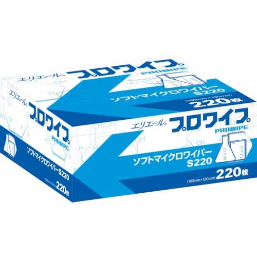 エリエール プロワイプ ソフトマイクロワイパーS220 220枚X36箱入り_