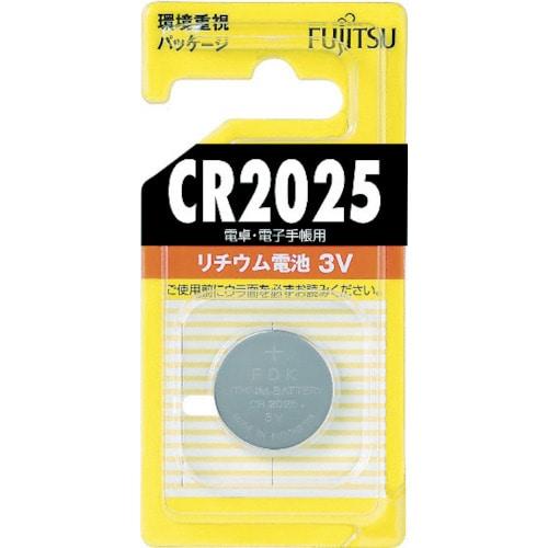 富士通 FDK 富士通 リチウムコイン電池 CR2025 (1個=1PK)_