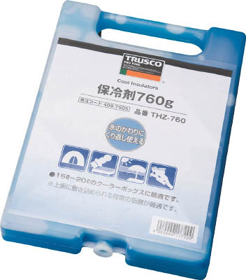TRUSCO 保冷剤 760g_