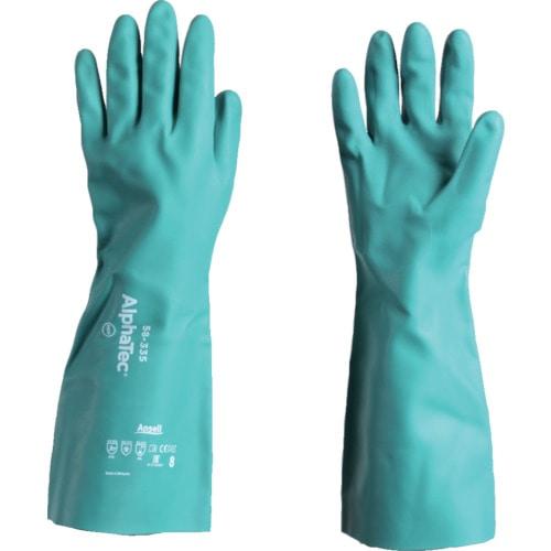 アンセル 耐薬品手袋 アルファテック 58-335 Mサイズ_