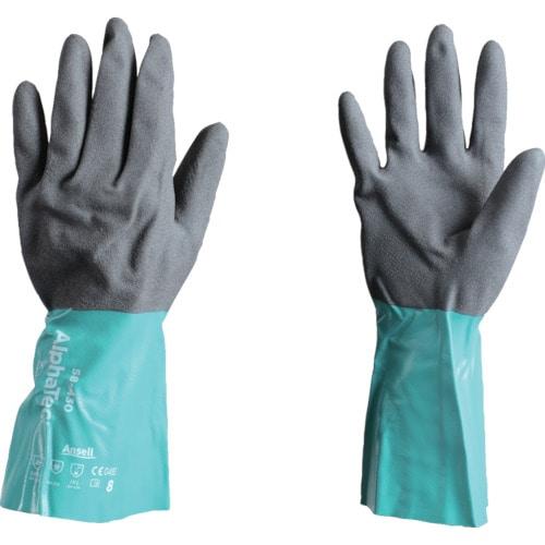 アンセル 耐薬品手袋 アルファテック 58-335 Lサイズ_