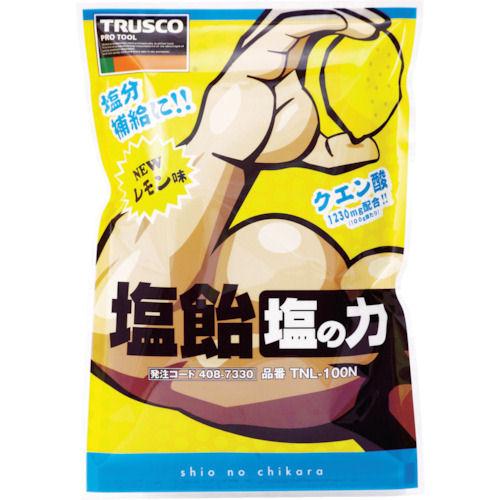TRUSCO 塩飴 塩の力 100g袋入 レモン味 (1袋入)_