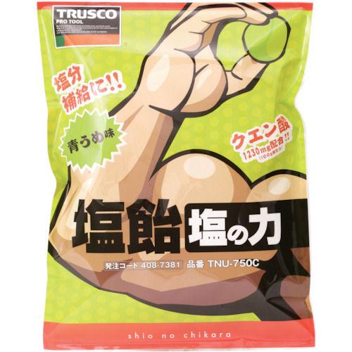 TRUSCO 塩飴 塩の力 750g 青梅味 詰替袋 (1袋入)_