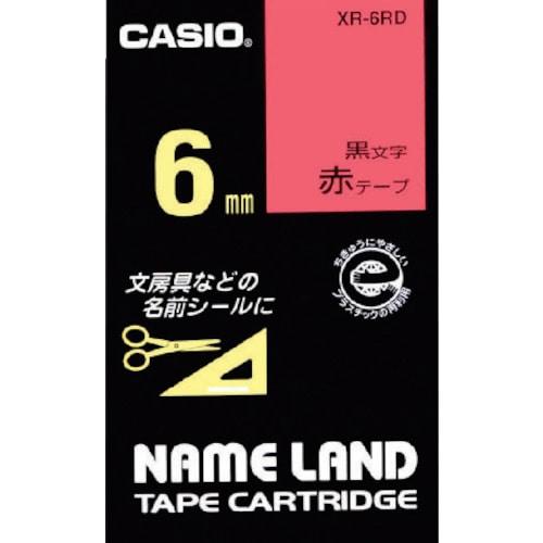 カシオ ネームランド用テープカートリッジ 粘着タイプ 6mm_