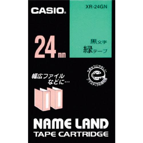 カシオ ネームランド用テープカートリッジ 粘着タイプ 24mm_