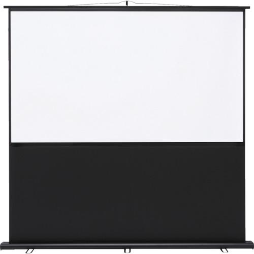 SANWA プロジェクタースクリーン 床置き式_