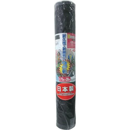 GS 超強力防草シート(黒) 0.75m×20m_