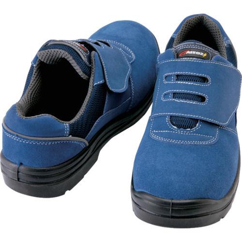 アイトス セーフティシューズ 短靴マジックタイプ ネイビー 各種