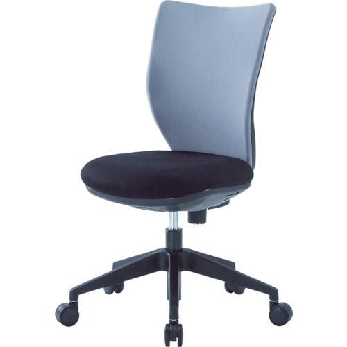 アイリスチトセ 回転椅子3DA グレー 肘なし_