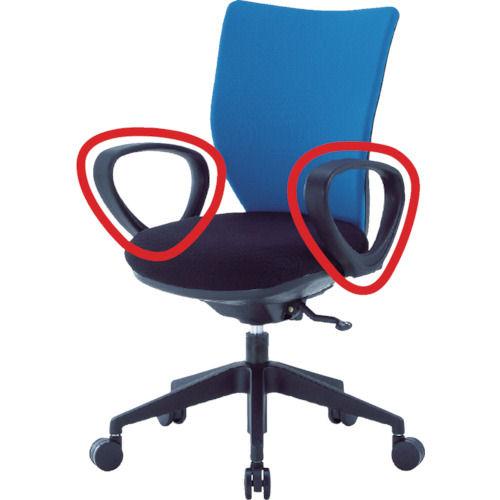 アイリスチトセ 回転椅子3DA ループ肘_