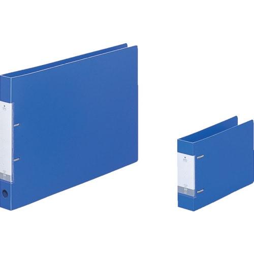 リヒト A5/E D型リングファイル(350枚) 青_