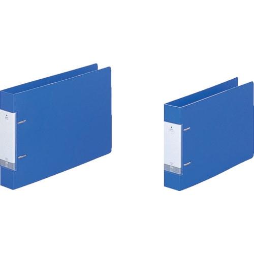 リヒト B5/E D型リングファイル(350枚) 青_