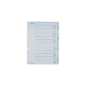キングジム カラ-インデックスA4-S 12山タイプ_