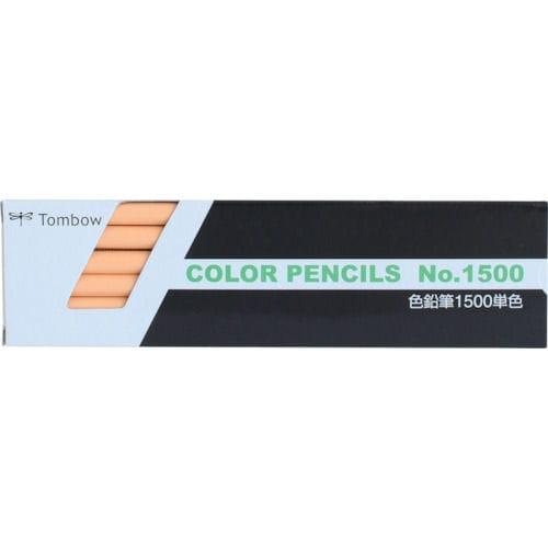 Tombow 色鉛筆 1500 単色 うすだいだい_