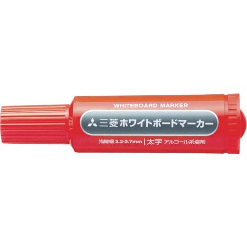 uni 三菱鉛筆/ホワイトボードマーカー/太字/赤_