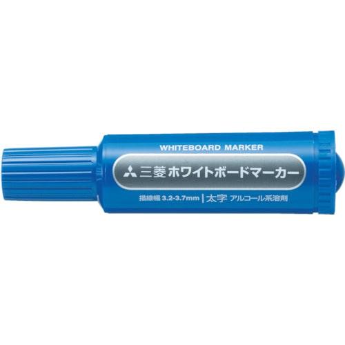 uni 三菱鉛筆/ホワイトボードマーカー/太字/青_