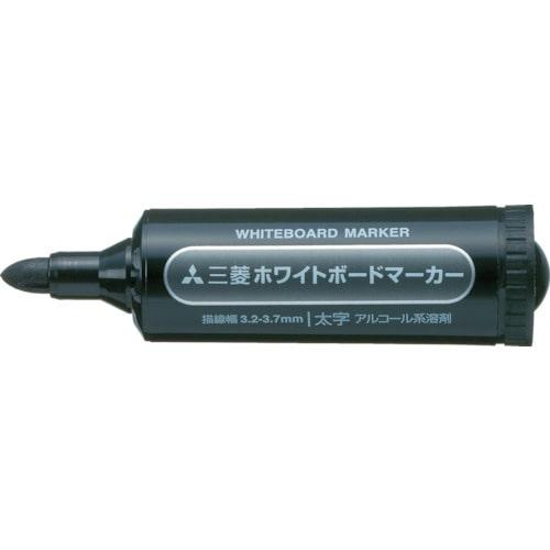 uni 三菱鉛筆/ホワイトボードマーカー/太字/黒_