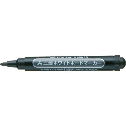 uni 三菱鉛筆/ホワイトボードマーカー/細字/黒_