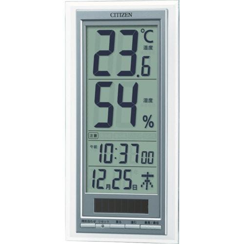 シチズン ソーラーアシスト式温湿度計_